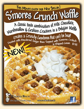S'mores Crunch® Waffle
